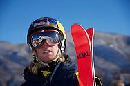 Russ Henshaw during Men's Ski Slopestyle Practice at the 2013 X Games Aspen at Buttermilk Mountain in Aspen, CO.  Brett Wilhelm/ESPN