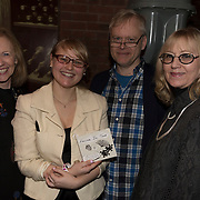 Cecila Currin, Concetta Abbate, Stephen Haff, Darlene Abbate, at the 'Still Waters in a Storm' benefit at The City Winery NYC. <br /> <br /> Still Waters in a Storm is a free school for children in the neighborhood of Bushwick, Brooklyn.Volunteers offer homework help and classes in reading, writing, violin, music composition, yoga and Latin, all free of charge to low-income families in the neighborhood.