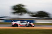 November 19-22, 2015: Lamborghini Super Trofeo at Sebring Intl Raceway. #116 Shinya Michimi (JAP), Kei Francesco Cozzolino (ITA), Vincenzo Sospiri Racing