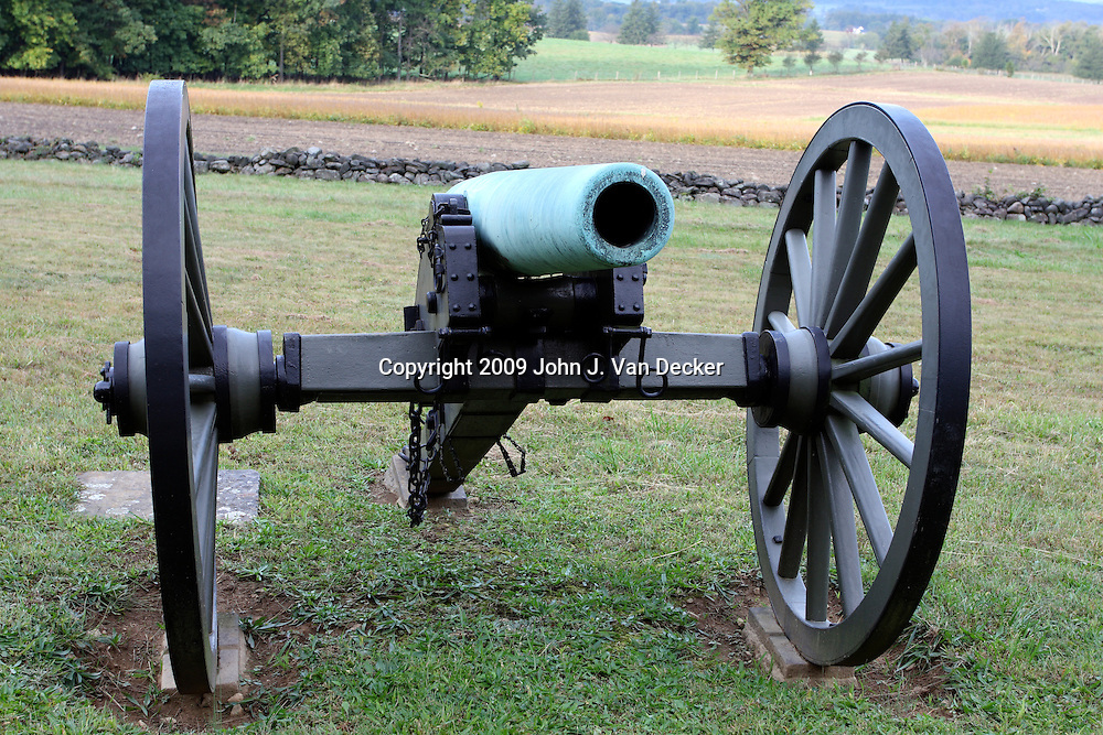 12 pounder Napoleon Cannon on the Gettysburg battlefield