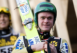Mario Innauer of Austria after he competed during Final round of the FIS Ski Jumping World Cup event of the 58th Four Hills ski jumping tournament, on January 3, 2010 in Bergisel, Innsbruck, Austria.(Photo by Vid Ponikvar / Sportida)