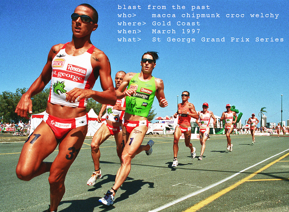 St George Grand Prix Triathlon Series 1997 at Southport Broadwater