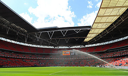 General views of Wembley stadium - Mandatory by-line: Nizaam Jones/JMP - 14/05/2017 - FOOTBALL - Wembley Stadium- London, England - Forest Green Rovers v Tranmere Rovers - Vanarama National League Final