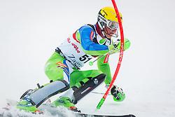 "Stefan Hadalin (SLO) during FIS Alpine Ski World Cup 2016/17 Men's Slalom race named ""Snow Queen Trophy 2017"", on January 5, 2017 in Course Crveni Spust at Sljeme hill, Zagreb, Croatia. Photo by Ziga Zupan / Sportida"