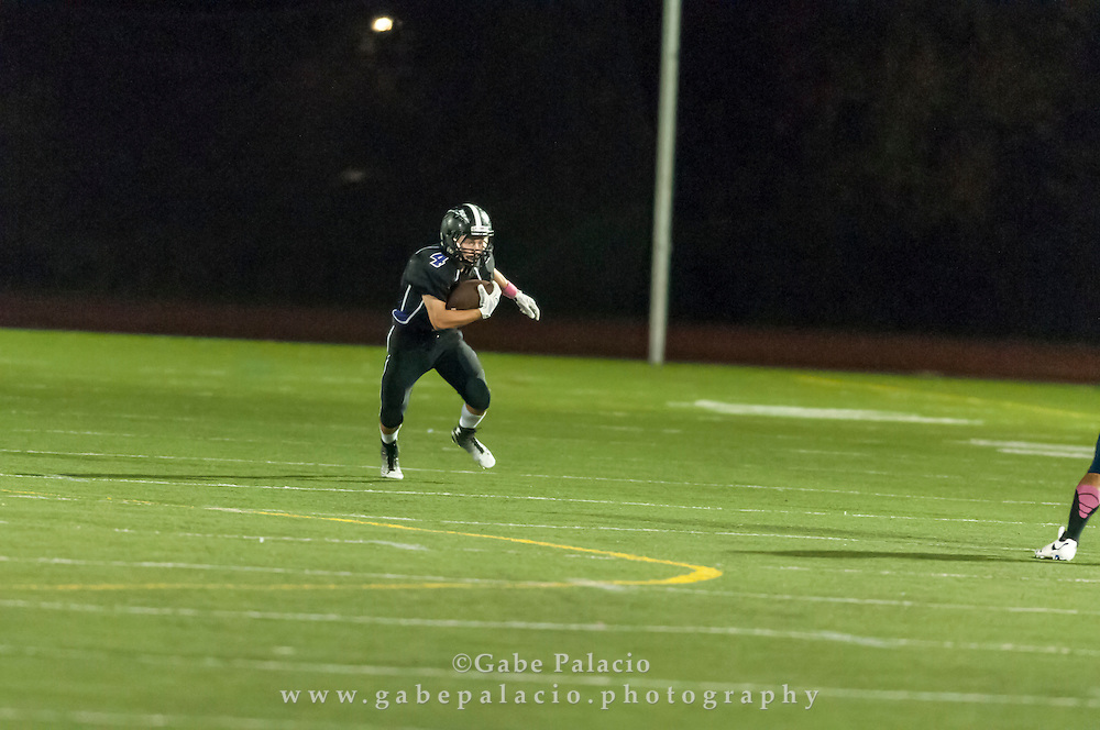 John Jay Varsity Football game vs. Beacon on October 2, 2014. (photo by Gabe Palacio)