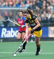 DEN BOSCH - Lidewij Welten   van Den Bosch   tijdens de  de tweede finale wedstrijd tussen de vrouwen van Den Bosch en SCHC (2-0)  . Den Bosch behoudt de titel. . COPYRIGHT  KOEN SUYK
