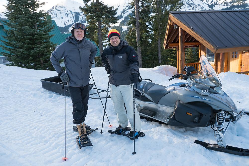 United States, Washington, Crystal Mountain Ski Resort