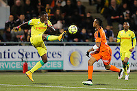 Papi DJILOBODJI / Jordan AYEW - 20.12.2014 - Lorient / Nantes - 17eme journee de Ligue 1 -<br />