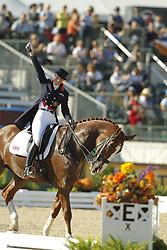 BECHTHOLSHEIMER Laura, Mistral Hojris<br /> Kentucky - Alltech FEI WEG 2010<br /> /Stefan Lafrentz
