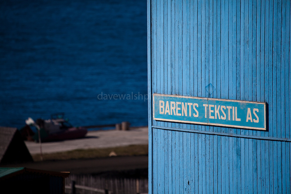 Barentsburg, a Russian coal mining town in the Norwegian Archipelego of Svalbard. Once home to about 2000 miners and their families, less than 500 people now live here.