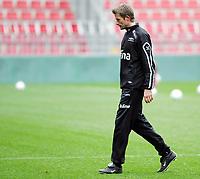 Fotball / Football<br /> Trening Norge foran Play Off mot Tsjekkia<br /> Training Norway in front of the play off match v Czech Republic<br /> Praha / Prague<br /> 15.11.2005<br /> Foto: Morten Olsen, Digitalsport<br /> <br /> Andre Bergdølmo - FC København