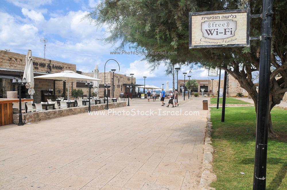 Tourist services, Caesarea, Israel