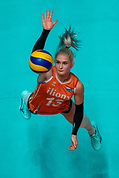 28-05-2019 NED: Volleyball Nations League Netherlands - Brazil, Apeldoorn<br /> <br /> /