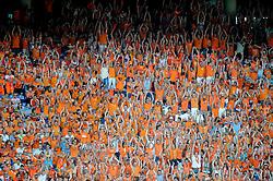 05-06-2010 VOETBAL: NEDERLAND - HONGARIJE: AMSTERDAM<br /> Nederland wint met 6-1 van Hongarije / Oranje support publiek<br /> ©2010-WWW.FOTOHOOGENDOORN.NL