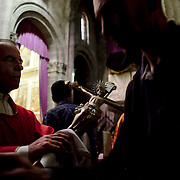 The Death of the Lord mass at Braga's Cathedral, held on on Holy Friday, during Semana Santa