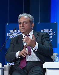 Chander P. Gurnani, chief executive officer of Mahindra Satyam, speaks during the World Economic Forum in Brussels, Monday May 10, 2010. (Photo © Jock Fistick)