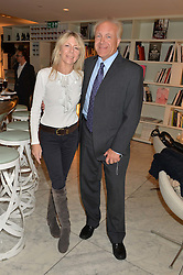PATRICK & LOUISE GUINNESS at the launch of the 'Jasmine for Jaeger' fashion collection by Jasmine Guinness for fashion label Jaeger held at Fenwick's, Bond Street, London on 9th September 2015.