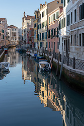 A view of a canal in Venice. From a series of travel photos in Italy. Photo date: Sunday, February 10, 2019. Photo credit should read: Richard Gray/EMPICS