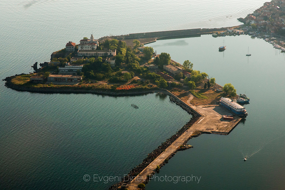 Aerial photographs of Sozopol