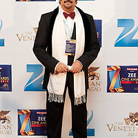 MACAU, MACAO - JANUARY 21:  Indian actor Akhbar Khan attends red carpet during the Zee Cine Awards 2012 ceremony at The Venetian Macao-Resort-Hotel on January 21, 2012 in Macau.  Photo by Victor Fraile / studioEAST