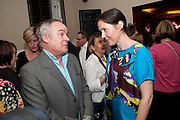 Streetsmart Reception to celebrate the 2010 campaign at which voluntary £1 was  added to the table bill at the end of a meal at participating restaurants raising £460,000. Groucho club. Dean St. London. 18 April 2011. -DO NOT ARCHIVE-© Copyright Photograph by Dafydd Jones. 248 Clapham Rd. London SW9 0PZ. Tel 0207 820 0771. www.dafjones.com.