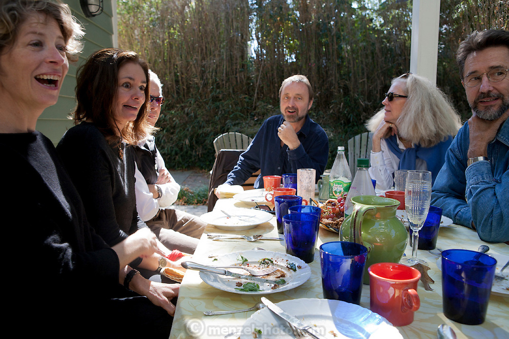 Brunch at David Griffin and Kathy Moran's in Arlington, VA