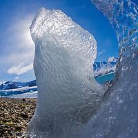 Alberto Carrera, Arctic Lands, Glacier Ice, Drift floating Ice,14 of July Glacier, Krossfjord, Arctic, Spitsbergen, Svalbard, Norway, Europe