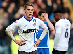 Danny Rose of Bury  - Mandatory byline: Matt McNulty/JMP - 06/12/2015 - Football - Spotland Stadium - Rochdale, England - Rochdale v Bury - FA Cup