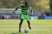 Forest Green Rovers Dale Bennett(6) runs forward during the Vanarama National League Play Off second leg match between Forest Green Rovers and Dagenham and Redbridge at the New Lawn, Forest Green, United Kingdom on 7 May 2017. Photo by Shane Healey.
