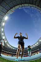 Athletics - IAAF World Championships 2013 - Stadium Loujniki , Moscow , RUSSIA - 10 to 18/08/2013 - Photo STEPHANE KEMPINAIRE / KMSP / DPPI - Day 3 - 12/08/13 -<br /> Pole Vault - Men - Finale - Silver Medal - Renaud Lavillenie (FRA)