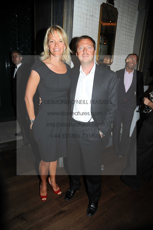 MATTHEW FREUD and his wife ELISABETH MURDOCH at the Harper's Bazaar Women of the Year Awards 2008 at The Landau, The Langham Hotel, Portland Place, London on 1st September 2008.<br /> <br /> NON EXCLUSIVE - WORLD RIGHTS