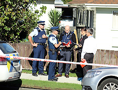 Auckland-Two year old killed by gun shot, Favona Road