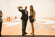 SAM KELLER; DASHA ZHUKOVA, Opening of Art Basel Miami Beach. Convention Centre.  Miami Beach. 30 November 2010. -DO NOT ARCHIVE-© Copyright Photograph by Dafydd Jones. 248 Clapham Rd. London SW9 0PZ. Tel 0207 820 0771. www.dafjones.com.