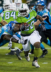 November 19, 2009; San Francisco, CA, USA;  California Redwoods running back Cory Ross (20) during the first quarter against the Florida Tuskers at AT&T Park. Florida defeated California 34-27.