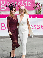 Repro Free. Triona Barrett, General Manager of the g Hotel with Marietta Doran at the g Hotel Best Dressed competitions at the Galway Races. Photo: Andrew Downes, xposure