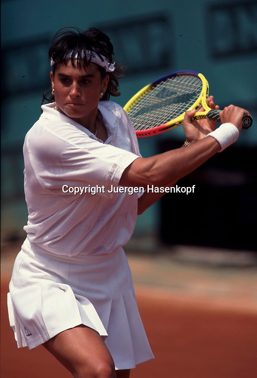 French Open 1995, Grand Slam Tennis Turnier in Paris, Gabriela Sabatini (ARG),