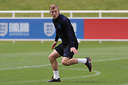 England midfielder James Ward-Prowse during the training session for England at St George's Park National Football Centre, Burton-Upon-Trent, United Kingdom on 28 May 2019.