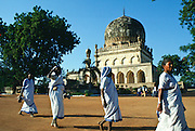 Qutab Shahi Tombs where kings are buried, Hyderabad, Andhrapradesh, India