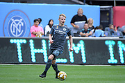 Gary Mackay-Steven of New York City FC during a MLS soccer game against San Jose Earthquakes, Saturday, Sept. 14, 2019, in New York.NYCFC defeated San Jose Earthquakes 2-1.(Errol Anderson/Image of Sport)
