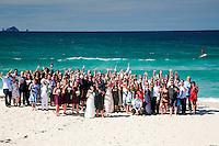 mike & bree's wedding photos onemana beach whangamata coromandel peninsula beach wedding photos by felicity jean photography