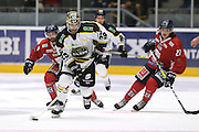 Mark Van Guilder of Stavanger Oilers in action v Lillehammer during the GET-ligaen match between Stavanger Oilers and Lillehammer at DNB Arena, Stavanger , Norway on 22 September 2016. Photo by Andrew Halseid-Budd.