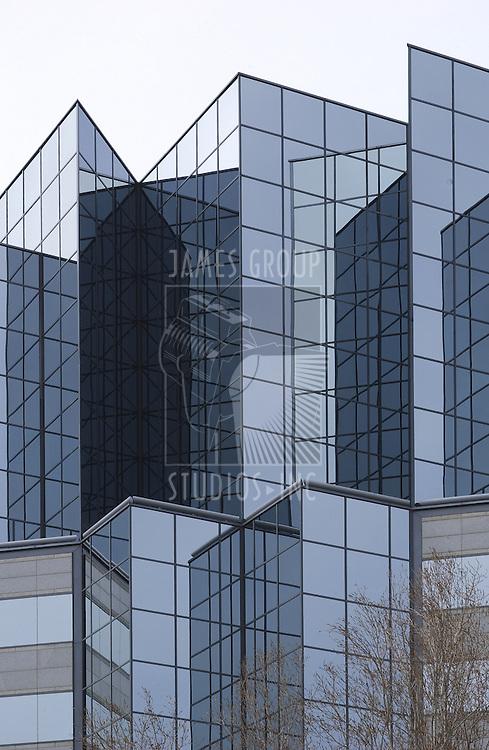 corporate glass exterior