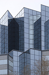corporate glass exterior