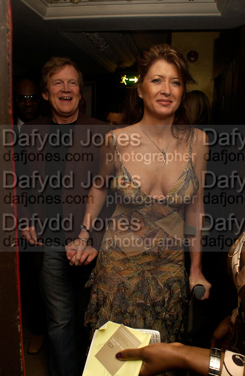 Duncan Heath and Catherine. Party hosted by Oasis  to celebrate the 1st birthday of the ICM Model agency  at the Embassy club , Old Burlington Street, London W1. 14th February 2005.ONE TIME USE ONLY - DO NOT ARCHIVE  © Copyright Photograph by Dafydd Jones 66 Stockwell Park Rd. London SW9 0DA Tel 020 7733 0108 www.dafjones.com