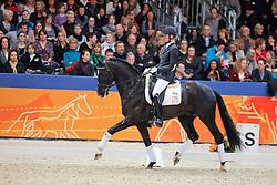 Hanzon Theo (NED) - IPS Andretti<br /> KWPN hengstenkeuring 2011 - 's Hertogenbosch 2011<br /> © Dirk Caremans