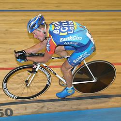 ALKMAAR (NED) wielrennen<br />NK Baanwielrennen ; mannen 2004,; Achtervolging; Matthe Pronk