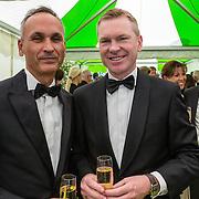 NLD/Amsterdam/20150604 - Amsterdam Diner 2016, Peter Rehwinkel en partner Michel Zeegelaar