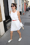 28.JUNE.2012. LONDON<br /> <br /> SADIE FROST ARRIVING AT IAIN McKEL'S BOOK LAUNCH PARTY IN LONDON.<br /> <br /> BYLINE: EDBIMAGEARCHIVE.CO.UK<br /> <br /> *THIS IMAGE IS STRICTLY FOR UK NEWSPAPERS AND MAGAZINES ONLY*<br /> *FOR WORLD WIDE SALES AND WEB USE PLEASE CONTACT EDBIMAGEARCHIVE - 0208 954 5968*