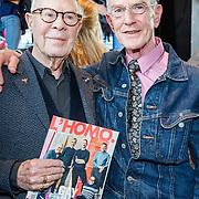 """NLD/Amsterdam/20180426 - L""""Homo 2018, Hans van Manen en partner Henk van Dijk"""