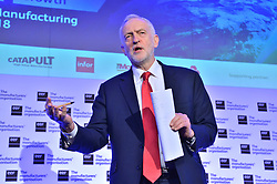 © Licensed to London News Pictures. 20/02/2018. London, UK. Labour party leader JEREMY CORBYN MP<br />